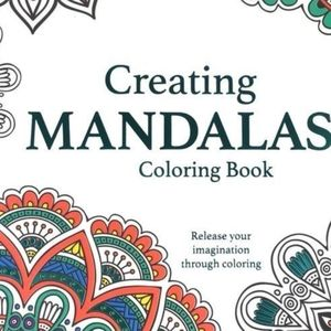 New! Mandalas Coloring Book